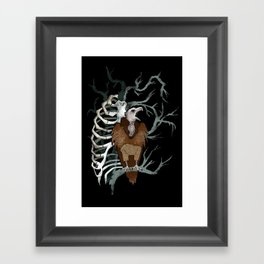 October Nights Framed Art Print