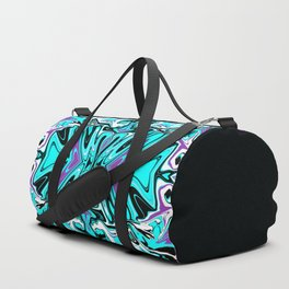 Fluid Abstract 05 Duffle Bag