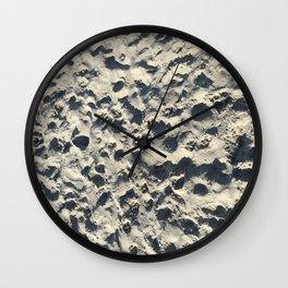 sandy beach Wall Clock
