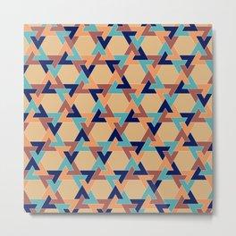 Geometric pattern 1977 Metal Print