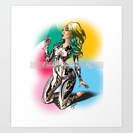 The Britany Bundle Art Print