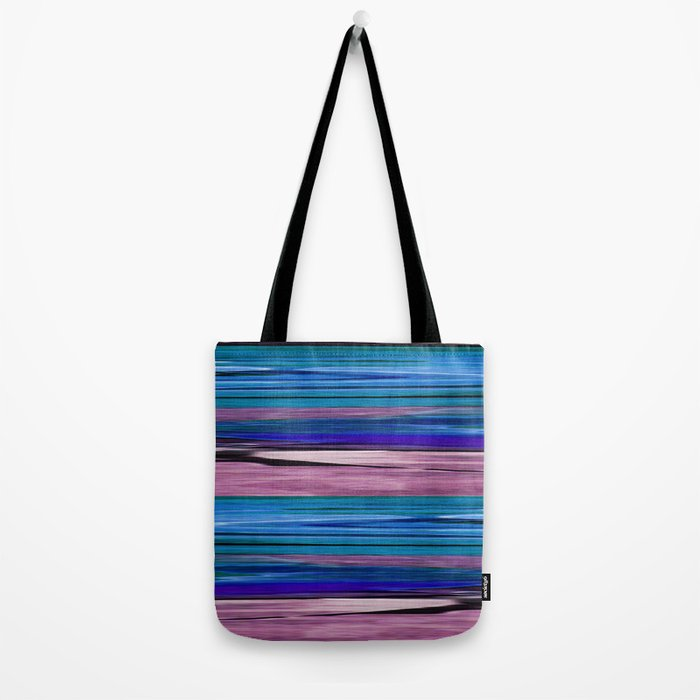 Abstract pattern . lilac blue . Tote Bag