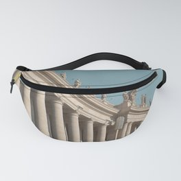 Views in Piazza San Pietro Fanny Pack