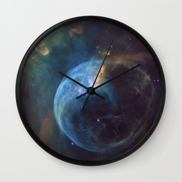 A magic space-atmosphere Wall Clock