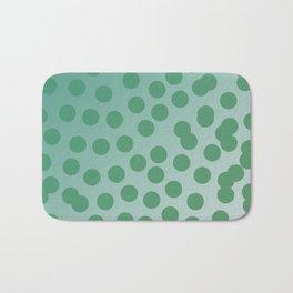 Design green dots emerald edition Bath Mat