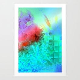 Coral Dreams  Art Print