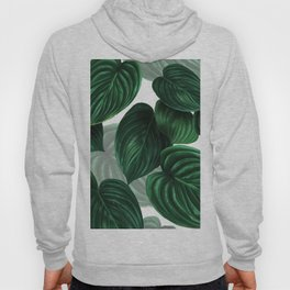 tropical green pattern Hoody