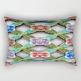 Haedong Yonggungsa Temple Door Carving I Rectangular Pillow