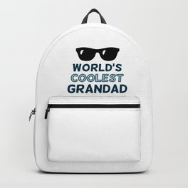 World's Coolest Grandad Backpack