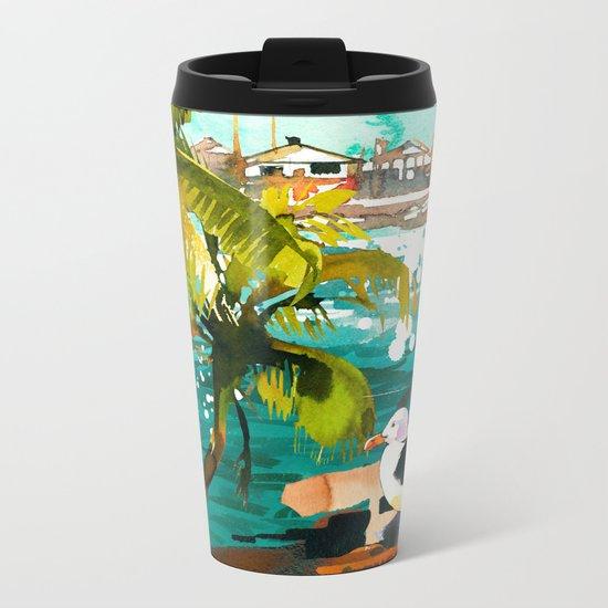 Seascape #5 Metal Travel Mug