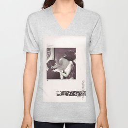 an occasional woman Unisex V-Neck