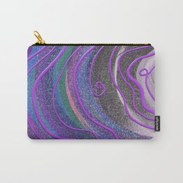 Squeezed Lines Carry-All Pouch