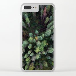 Canadian Fall Clear iPhone Case