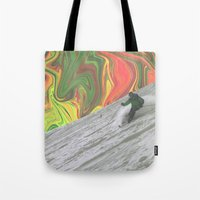 rasta Tote Bags featuring Rasta Corner by Calepotts