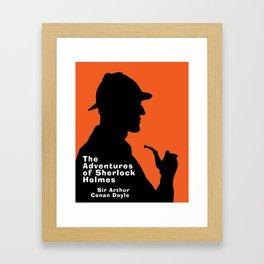 The Adventures of Sherlock Holmes Framed Art Print