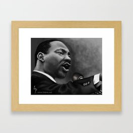 King Jr, Framed Art Print