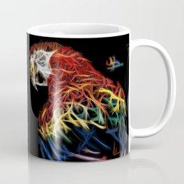 Parrot abstracto Coffee Mug