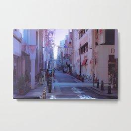 Alleyway Maze, Osaka Metal Print