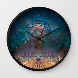 Industrial Intervention Wall Clock