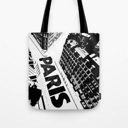 Cities in Black - Paris Tote Bag