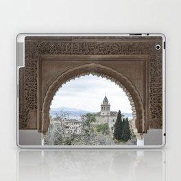 Window to Granada Laptop & iPad Skin