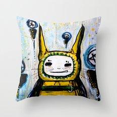 My friend.  Throw Pillow