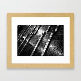 Indoor Water Feature Framed Art Print