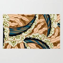 BALINESIA: BIG SKY RANCH, Art Deco Tropical Rug