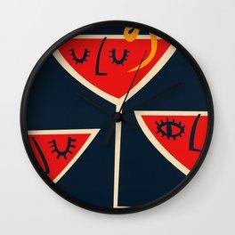 Cosmopolitan Cocktail Wall Clock