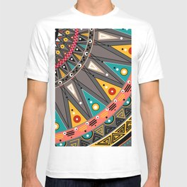 Ethnic tribal ornament T-shirt