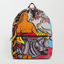 The Lovers Tarot Card Backpack
