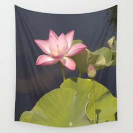 Pink Lotus by Teresa Thompson Wall Tapestry