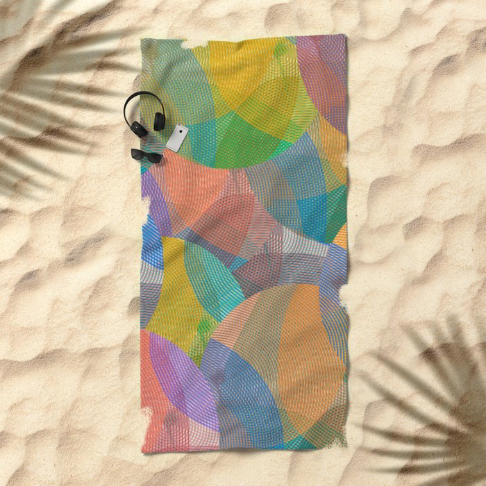 Abstract 102 Beach Towel