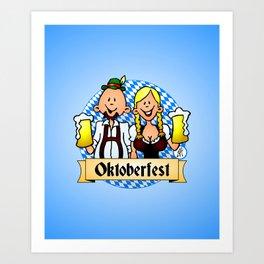 Oktoberfest Art Print