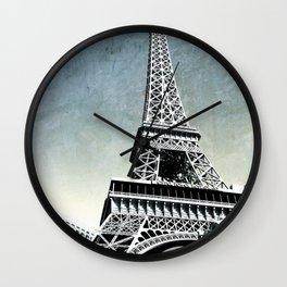 Eiffel Tower Las Vegas Wall Clock