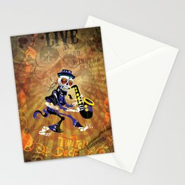 Winston - Sax. The Twitch Doctors Stationery Cards