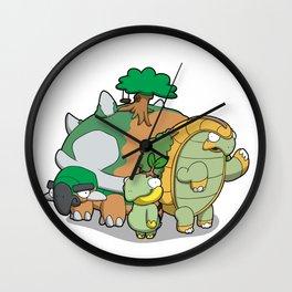 Terra Turtles Wall Clock
