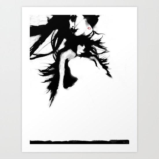 Roseblood Art Print