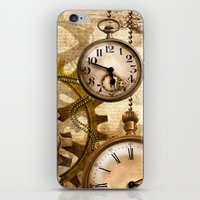 steampunk iPhone & iPod Skins featuring steampunk by Ancello