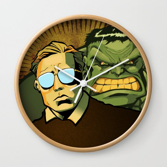 A Banner Year Wall Clock