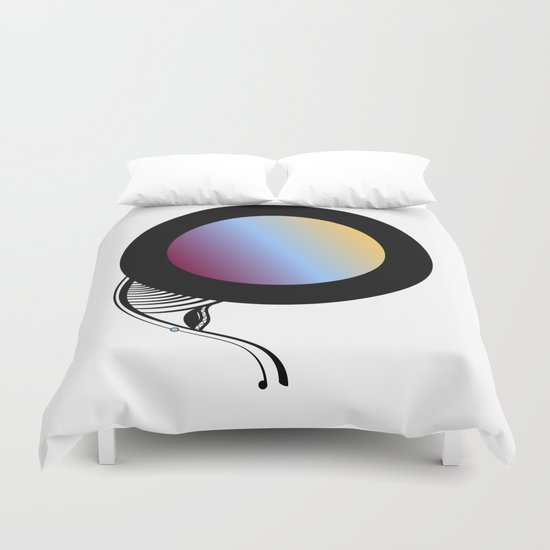 Abstract SH Duvet Cover