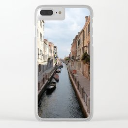 Venezia - Venice Clear iPhone Case