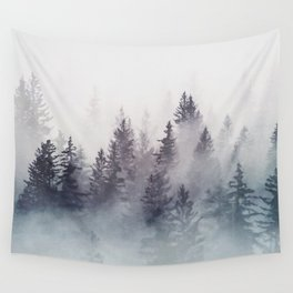 Winter Wonderland - Stormy weather Wall Tapestry