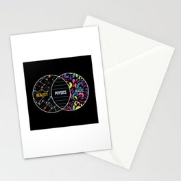 Physics Like Magic But Real - Funny Physics Pun Gift Stationery Cards