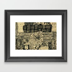 cob web Framed Art Print