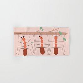 Ants at work Hand & Bath Towel