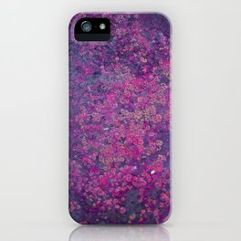 Pink Moss iPhone Case