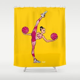 CoolNoodle and Jordan6 Shower Curtain