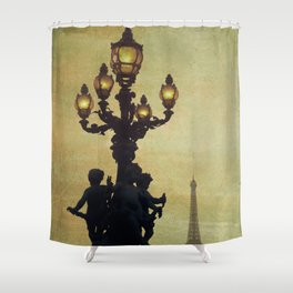 Paris (France) Shower Curtain