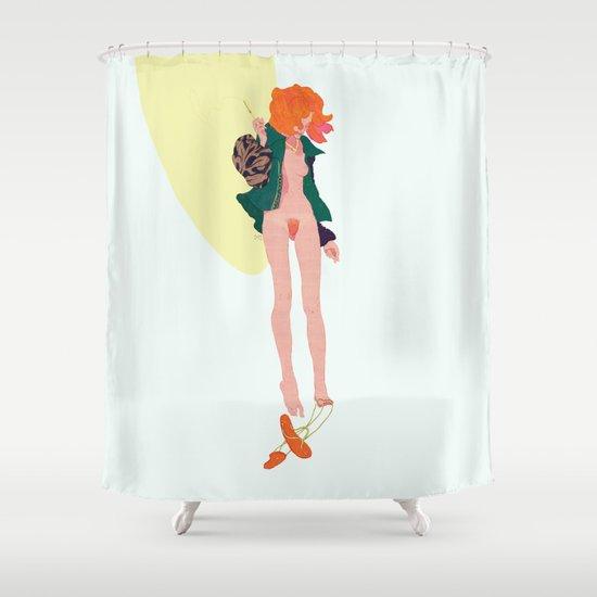 Longcat Shower Curtain